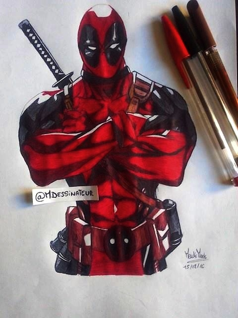 Deadpool by MisterDessinateur45